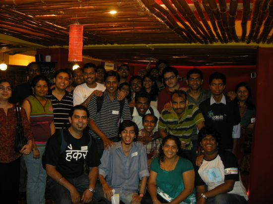 Pune Tweetup 2 Group Members